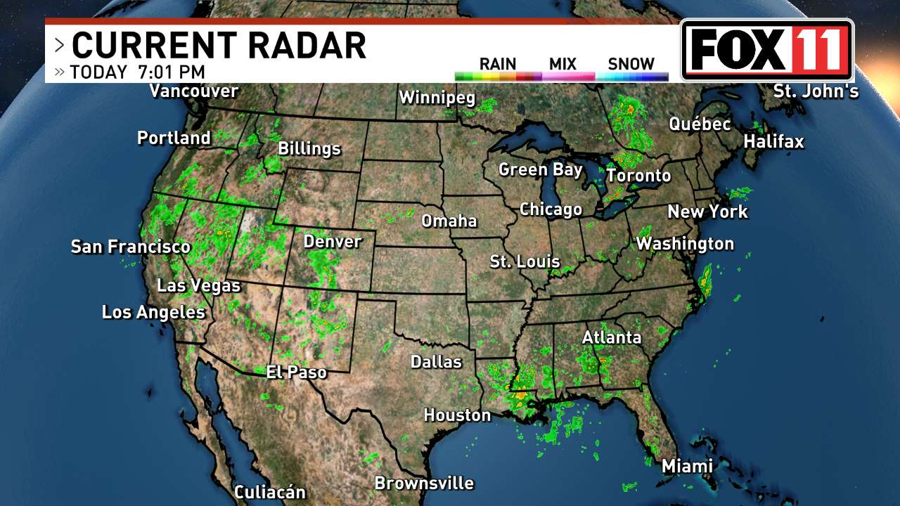 Popular 194 List weather radar map live