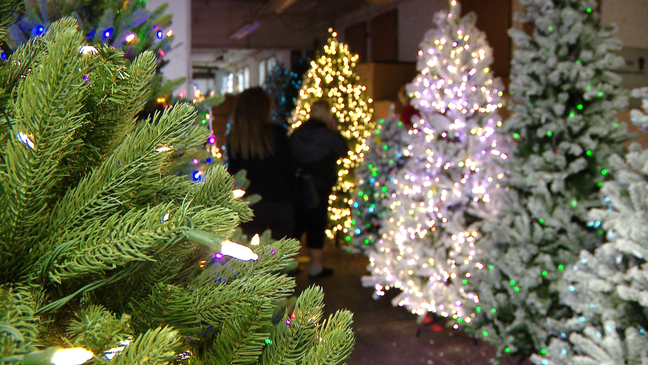 Fox 11 News Christmas Lights 2020 Developer's discovery leads to opening of pop up Christmas Factory
