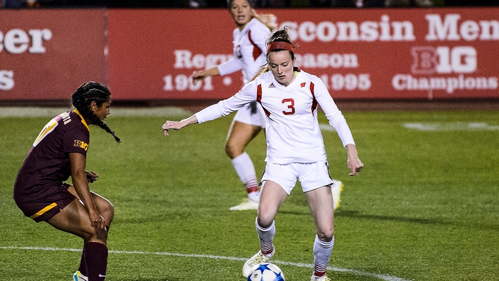 4933dc5b03b Wisconsin midfielder Rose Lavelle (3) kicks the ball as the Wisconsin  Badgers take on the Minnesota Gophers during a women's soccer game at  McClimon Soccer ...