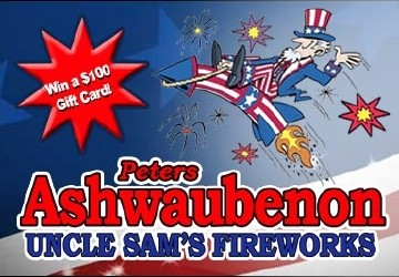 Peters Uncle Sam's Fireworks Giveaway