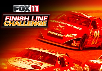 Play the 2015 FOX 11 Finish Line Challenge