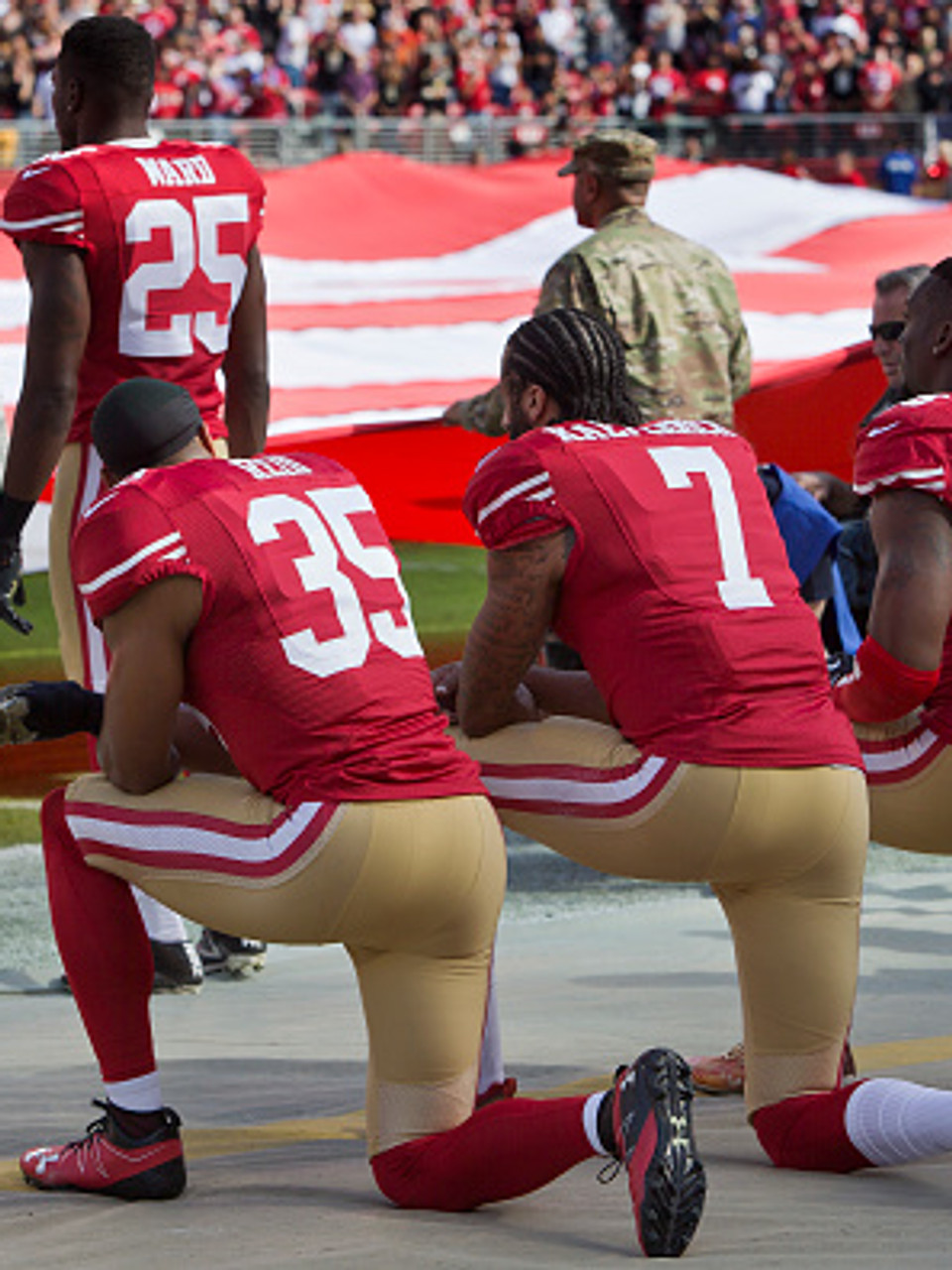 Despite Far More Support Kneeling Might Not Be Widespread Wluk