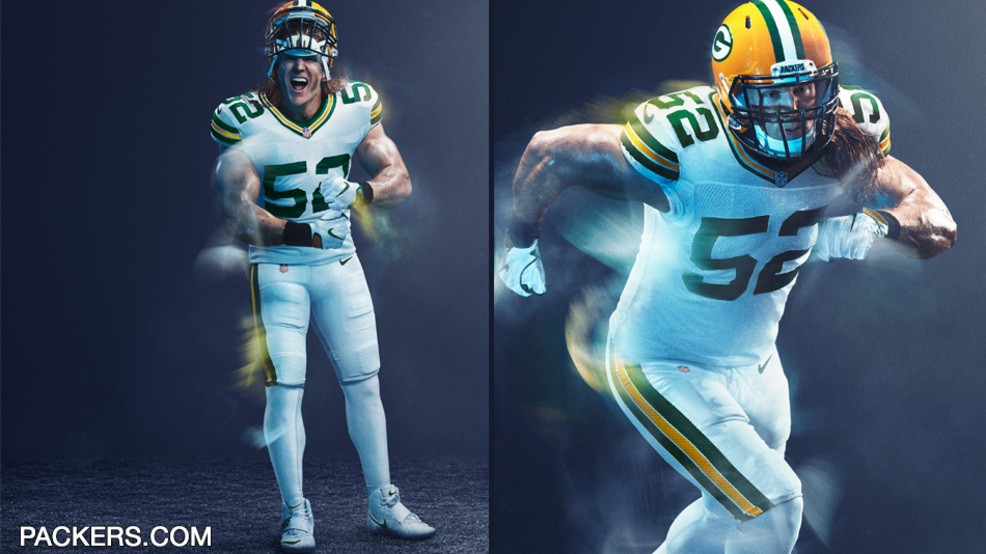 super popular 70cc8 f9af1 Packers will wear all white vs. Chicago | WLUK
