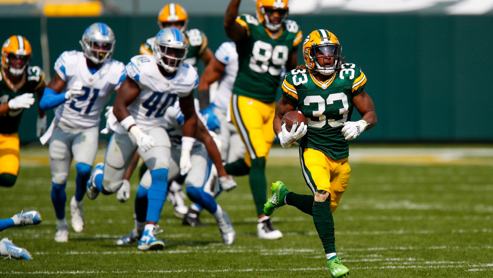 Packers Rb Aaron Jones Inactive For Game Vs Texans Wluk