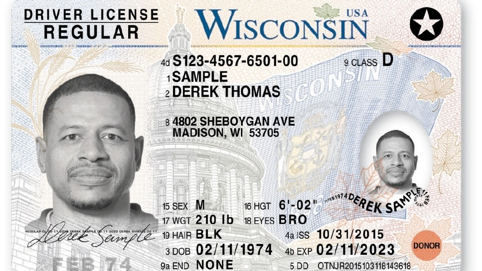 'most Wisconsin Secure Driver's Licenses America' North New Wluk In